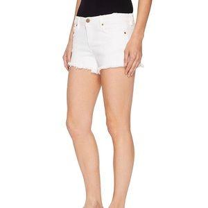 Blank NYC Little Queenie white shorts - size 27